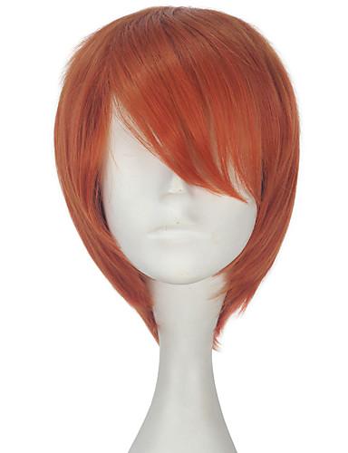 levne Cosplay paruky-Cosplay cosplay Cosplay Paruky Vše 12 inch Horkuvzdorné vlákno Oranžová Anime