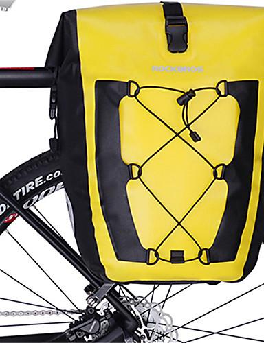 povoljno Biciklizam-ROCKBROS 27 L Vrećica za bicikle Zamišljen Velika zapremnina Vodootporno Torba za bicikl TPU Torba za bicikl Torbe za biciklizam Cestovni bicikl Jahanje Putovanje / Rainproof / Vodootporni patent