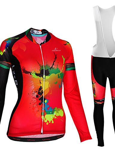 povoljno Odjeća za vožnju biciklom-Malciklo Žene Dugih rukava Biciklistička majica s tregericama Biciklistička majica Bijela Zelen Plava Zebra Veći konfekcijski brojevi Bicikl Biciklistička majica Prozračnost Quick dry Reflektirajuće
