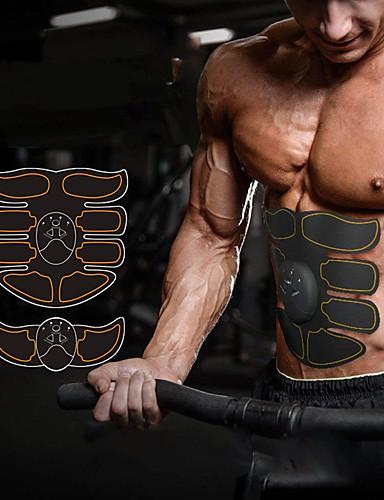 povoljno Vježbanje, fitness i joga-Abs stimulator Abdominalni Toning Belt EMS Abs Trainer Smart Elektronički Tonificator Muscular Toniranje mišića Tummy Fat Burner Krajnji trening Sposobnost Trening u teretani Bodybuilding Za Noga
