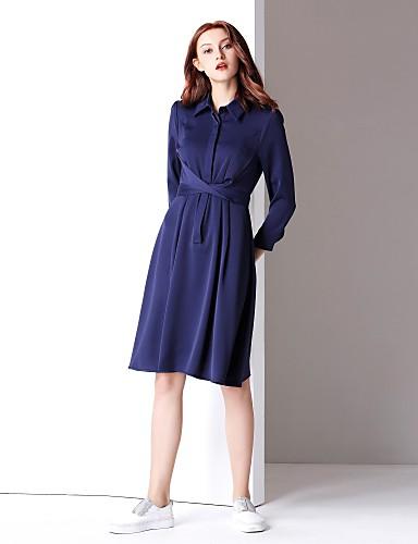 d78f86b07 Mujer Básico Línea A Vestido - Frunce
