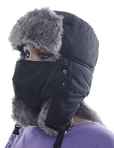 preiswerte Ski, Snowboard Bekleidung-Herrn Damen Chapka - Mütze Pelzmütze warm halten Winter Sport Polyester Gesichtsmaske Hut Skikleidung