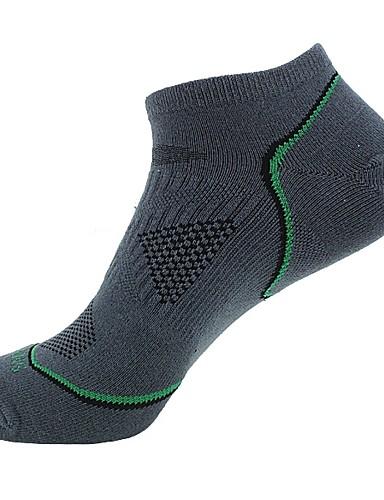 povoljno Odjeća za vožnju biciklom-Kompresija čarape Gležanj Čarape Futózoknik Sport čarape / atletske čarape Biciklističke čarape Muškarci Bicikl / Biciklizam Prozračnost 3 para Dungi Pamuk Tamno siva Plava Siva One Size