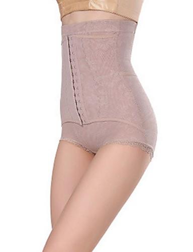 preiswerte Damen Slips-Damen Schwangerschaft Elasthan Grundlegend, Solide - G-Strings & Tangas / Nahtlos / Formwäsche Höschen 1pc Hohe Taillenlinie