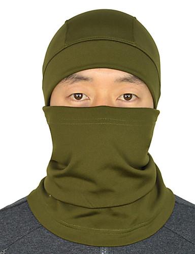 povoljno Odjeća za vožnju biciklom-maskirne kape Face Mask Ugrijati Vjetronepropusnost Prozračnost Bicikl / Biciklizam Plava Pink Tamno mornarice Runo Zima za Muškarci Odrasli Biciklizam / Bicikl Kampiranje / planinarenje