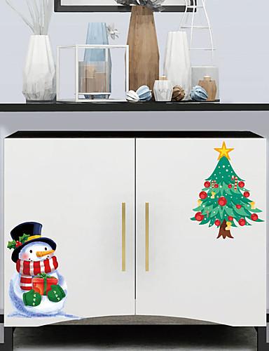 preiswerte Wand-Sticker-Dekorative Wand Sticker - Flugzeug-Wand Sticker / Ferien-Wand-Aufkleber Weihnachten / Feiertage Wohnzimmer / Schlafzimmer / Küche
