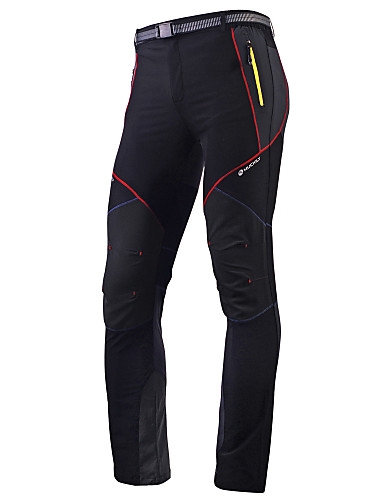 cheap Re11-The Best Winter Cycling Clothes/Related Sale-Nuckily Men's Cycling Pants Bike Pants / Trousers Tights Pants Waterproof Breathable Quick Dry Sports Polyester Black Mountain Bike MTB Road Bike Cycling Clothing Apparel Advanced Relaxed Fit Bike