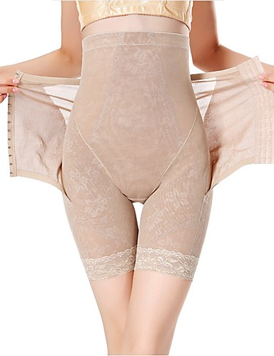 preiswerte Damen Slips-Damen Schwangerschaft Nylon Grundlegend, Solide - Nahtlos / Formwäsche Höschen 1pc Hohe Taillenlinie