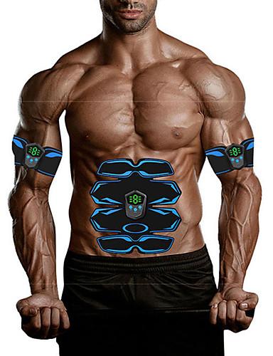 povoljno Vježbanje, fitness i joga-Abs stimulator Abdominalni Toning Belt EMS Abs Trainer Može se puniti Elektronički Tonificator Muscular Bežično Gubitak težine Fat Burner Izgradnja mišića Sposobnost Vježbati Bodybuilding Za Muškarci