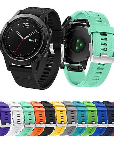 הלהקה smartwatch עבור garmin מבשר 935 / גישה s60 / fenix 5 רצועה אופנה רכה סיליקון ספורט הלהקה
