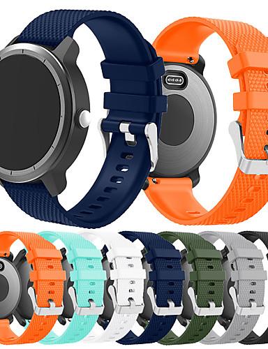 banda smartwatch para vivoactive 3 música / vivoactive 3 / vivomove garmin esporte banda moda pulseira de silicone macio