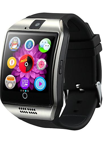 billige Digitale klokker-Herre Sportsklokke Smartklokke Digital Watch Digital Fritid Bluetooth Silikon Svart / Hvit / Brun Digital - Hvit Svart Gull / Kalender / Kronograf / LCD / Tachymeter