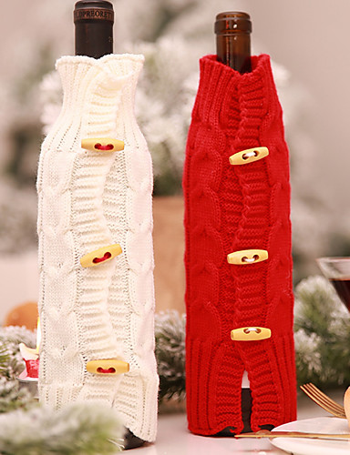 preiswerte Weihnachts Party-Weihnachten / Party / Abend Party Zubehör Bevorzugungs-Dekoration Strickware Weihnachten / Kreativ
