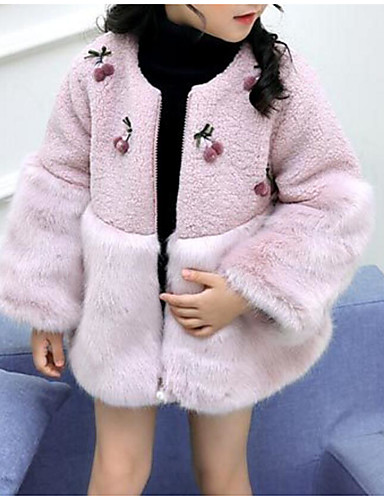 b681f68ae Kids Girls  Basic   Street chic Daily   Going out Print   Color ...