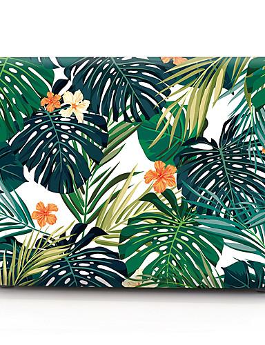 pvc hardt deksel skall for macbook pro 15 a1286 brunblomst blomst