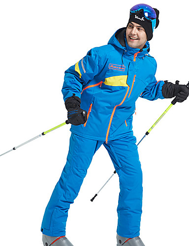 preiswerte Ski, Snowboard Bekleidung-Wild Snow Herrn Skijacken & Hosen Wasserdicht Windundurchlässig Warm Skifahren Winter Sport POLY Sportkleidung Skikleidung