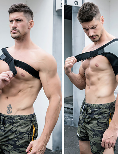 povoljno Vježbanje, fitness i joga-Zaštitnu opremu Vállvédő Neopren Izdržljivost Prozračnost Snaga ramena Sposobnost Dizanje utega Vježbati Za Muškarci Žene rame