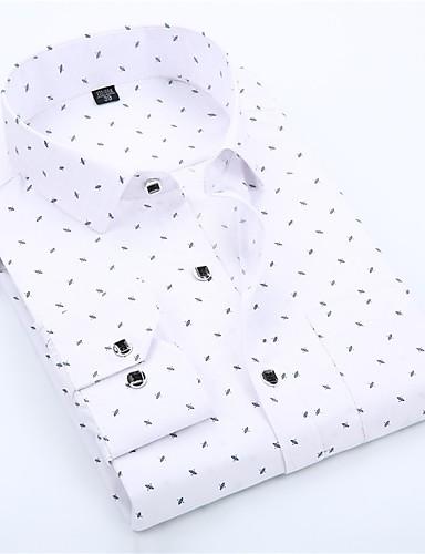 preiswerte Der Hochzeitsladen-Herrn Grafik - Grundlegend Hemd Rosa
