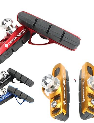 preiswerte Bremsen-Fahrradscheibenbremsbeläge Gummi Aluminiumlegierung Sicherheit Sport Für Rennrad Geländerad Radsport