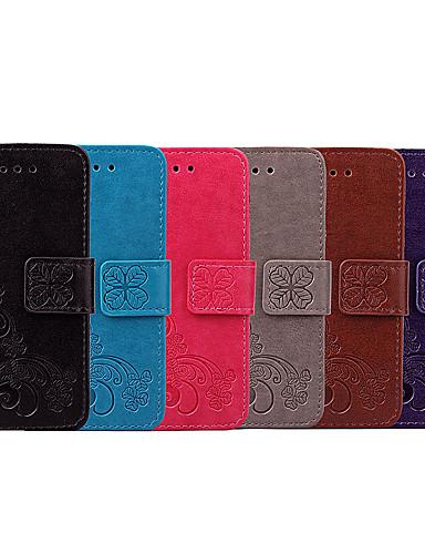 Θήκη Za Sony Sony Xperia Z5 Utor za kartice / Zaokret Korice Jednobojni / Mandala Mekano PU koža