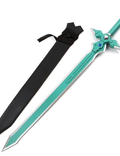 povoljno Anime cosplay-Sword Inspirirana Alicization SAO Kirito Swordman Anime Cosplay Pribor Sword Drvo vruć Halloween kostime
