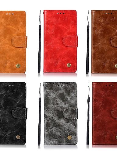 Θήκη Za Nokia Nokia 8 / Nokia 6 / Nokia 5 Novčanik / Utor za kartice / sa stalkom Korice Jednobojni Tvrdo PU koža