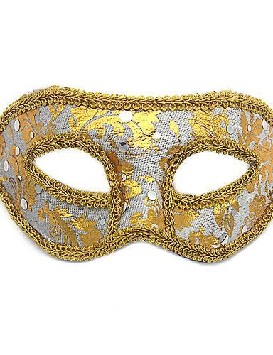 povoljno Maske i kostimi-Mask Rekviziti za Noć vještica Maska za maskiranje Inspirirana Mačka Fantom iz opere Crn Obala Halloween Halloween Karneval Odrasli Muškarci Žene
