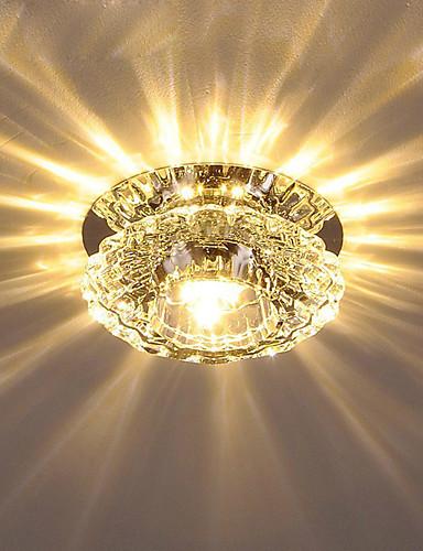 preiswerte BUY3GET20%OFF-MixBuy-Kristall Unterputz Raumbeleuchtung Galvanisierung Kristall Kristall AC110-240V Wärm Weiß / Kühl Weiß