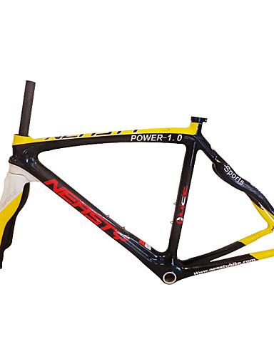 preiswerte Fahrradrahmen-Rennradrahmen Kohlefaser Fahhrad Rahmen 700C N / A 3K cm Zoll