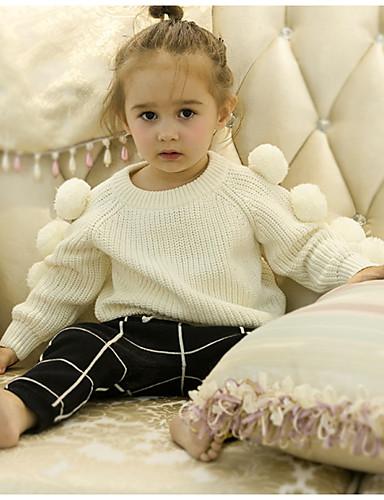 Dijete Djevojčice Aktivan Dnevno Jednobojni Dugih rukava Džemper i kardigan Obala / Dijete koje je tek prohodalo