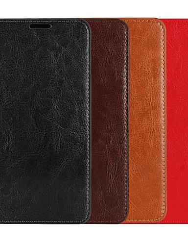 Θήκη Za Samsung Galaxy S9 / S9 Plus / S8 Plus Novčanik / Utor za kartice / sa stalkom Korice Jednobojni Tvrdo prava koža