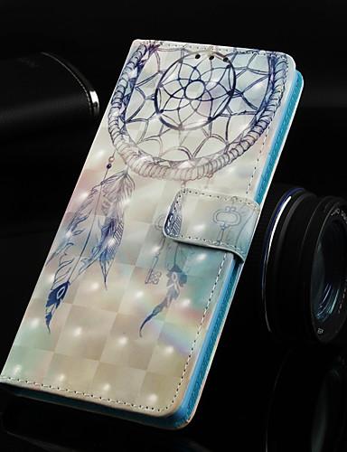 Θήκη Za Huawei Huawei Nova 3i / Huawei P Smart Plus / Huawei Mate 20 lite Novčanik / Utor za kartice / sa stalkom Korice Hvatač snova Tvrdo PU koža