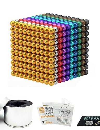 preiswerte StepsinWinter-1000 pcs 3mm 5mm Magnetspielsachen Magnetische Bälle Magnetspielsachen Bausteine Superstarke Magnete aus seltenem Erdmetall Neodym - Magnet Magnetisch Stress und Angst Relief Büro Schreibtisch