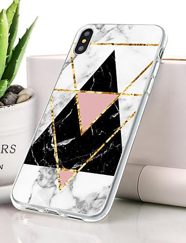 Θήκη Za Apple iPhone XS Protiv prašine / Ultra tanko / Uzorak Stražnja maska Mramor Mekano TPU