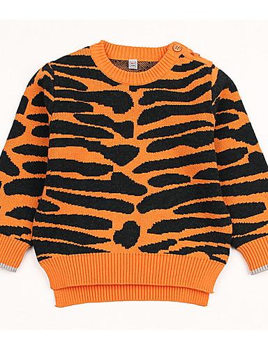 64e36a831 Baby Girls  Active Geometric Long Sleeve Regular Polyester Sweater ...