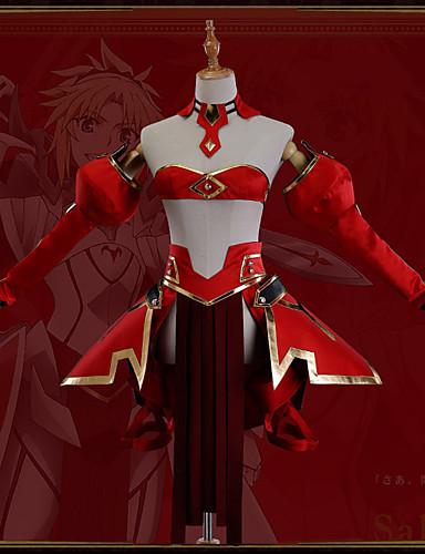 povoljno Anime cosplay-Inspirirana Sudbina / Veliki red Mordred Anime Cosplay nošnje Japanski Cosplay Suits Art Deco / Noviteti Suknja / Steznik / Plašt Za Uniseks