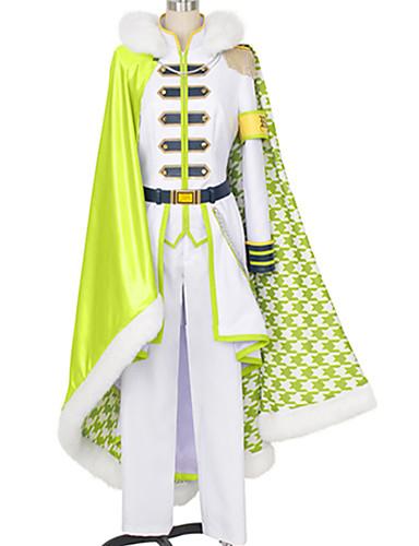 povoljno Anime cosplay-Inspirirana IDOLiSH7 Yuki Anime Cosplay nošnje Japanski Cosplay Suits Jednostavan / Klasika Top / Hlače / Plašt Za Muškarci / Žene