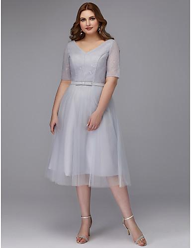 Tea Length, Plus Size Dresses, Search LightInTheBox