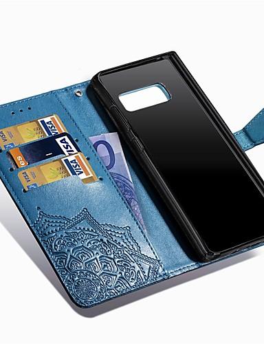 Θήκη Za Samsung Galaxy Note 8 Novčanik / Utor za kartice / sa stalkom Korice Mandala Tvrdo PU koža
