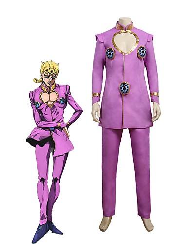 povoljno Anime cosplay-Inspirirana JoJo je Bizarno Avantura Giorno Giovanna / JoJo Anime Cosplay nošnje Japanski Cosplay Suits Other Dugih rukava Top / Hlače Za Uniseks