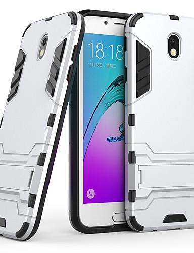 Θήκη Za Samsung Galaxy J7 (2017) Otporno na trešnju / sa stalkom Stražnja maska Jednobojni Tvrdo PC