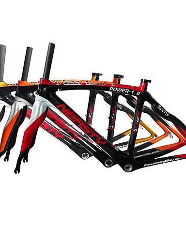 preiswerte Fahrradrahmen-Rennradrahmen Kohlefaser Fahhrad Rahmen 700C 3K cm Zoll