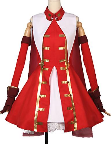 povoljno Maske i kostimi-Inspirirana Sudbina / Veliki red Rin Tohsaka Anime Cosplay nošnje Japanski Cosplay Suits Jednobojni / Art Deco Haljina / Rukavice / More Accessories Za Uniseks