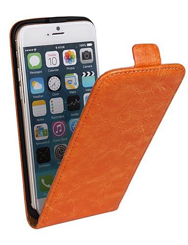 Θήκη Za Apple iPhone 8 Plus / iPhone 8 / iPhone 7 Plus sa stalkom / Zaokret Korice Jednobojni Tvrdo PU koža