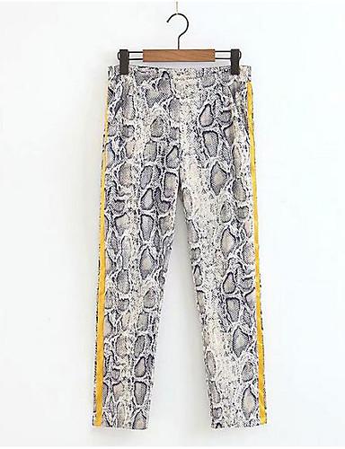 c343b04f7a Mujer Básico Chinos Pantalones - Un Color Borlas Caqui 7021580 2019 –  21.99