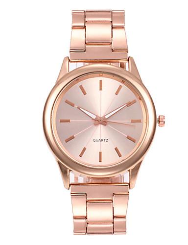 Women's Wrist Watch Quartz Stainless Steel Black / Silver / Gold 30 m Water Resistant / Waterproof New Design Analog Ladies Vintage Fashion - Black Silver Rose Gold