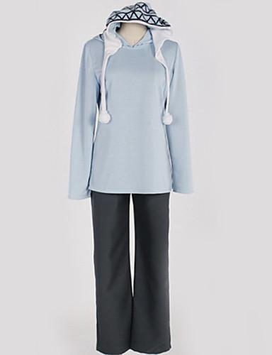 povoljno Anime cosplay-Inspirirana Noragami Yukine Anime Cosplay nošnje Japanski Cosplay Suits Jednobojni Top / Hlače / T-majica Za Muškarci / Žene