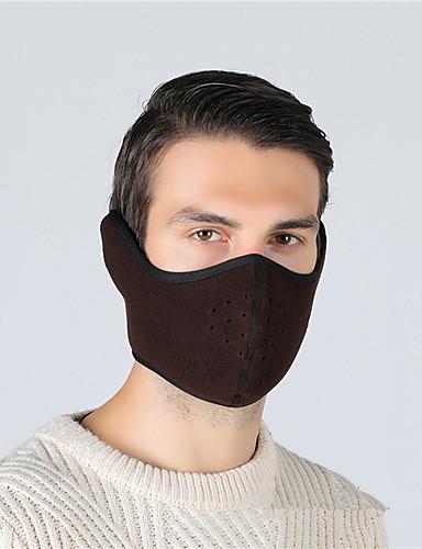 povoljno Odjeća za vožnju biciklom-Sportska maska Face Mask Jedna barva Ugrijati UV otporan Prozračnost Ovlaživanje Bicikl / Biciklizam Tamno siva Kamuflirati Burgundac Poliester Zima za Muškarci Žene Odrasli Vježbanje na otvorenom