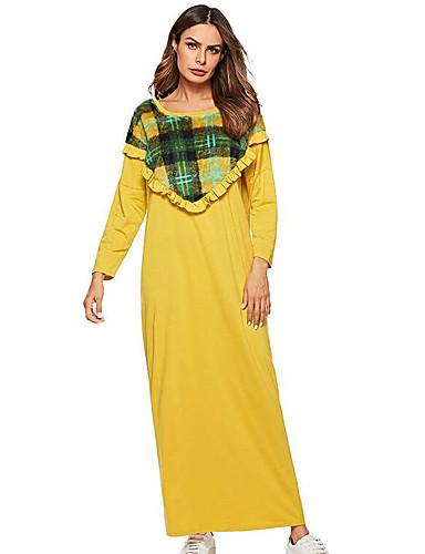 8378d3946492 γυναικείο καθημερινό φόρεμα μετακίνησης midi κίτρινο m l xl xxl 7057548 2019  –  36.99
