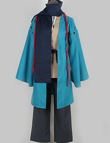 povoljno Maske i kostimi-Inspirirana Nurarihyon unuk Kubinashi Anime Cosplay nošnje Japanski Cosplay Suits Jednobojni Kaput / Top / Hlače Za Muškarci / Žene